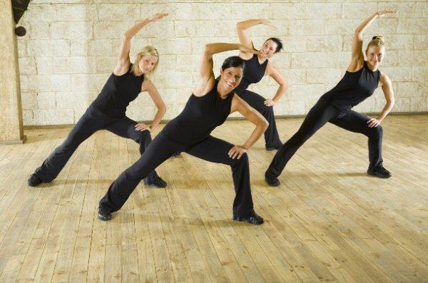 Kobiety podczas ćwiczeń