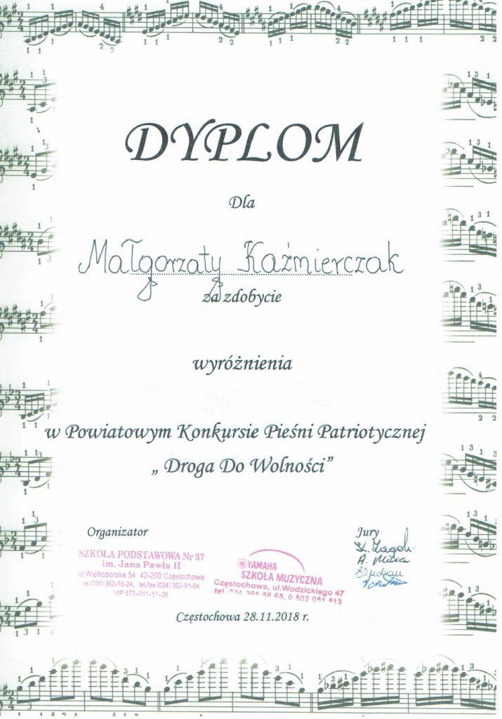 Dylom Małgorzaty Kaźmierczak